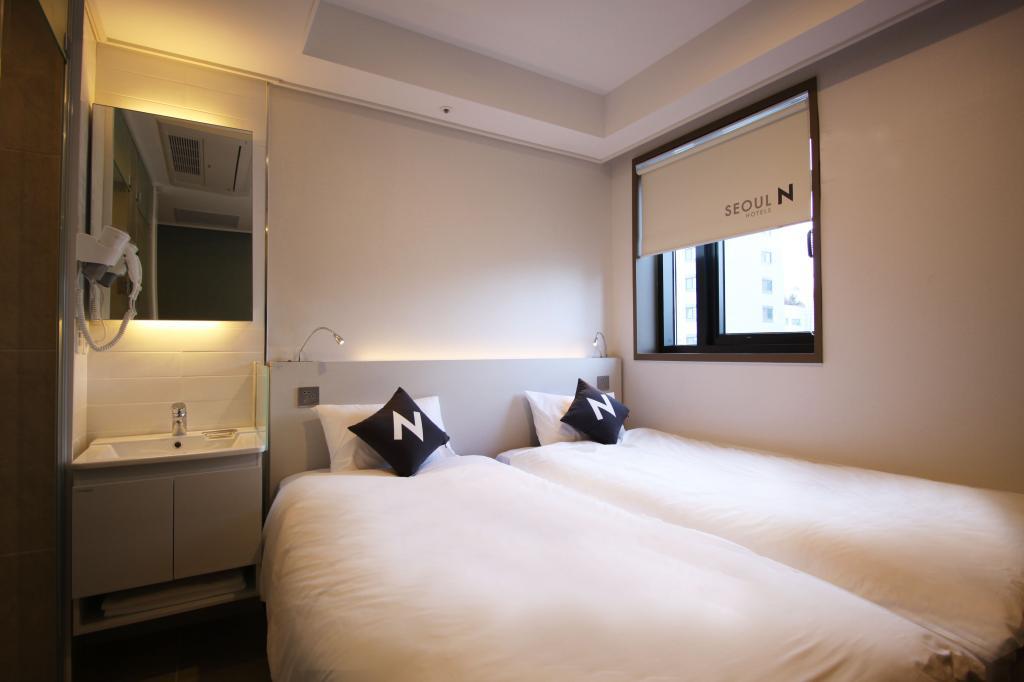 Seoul N Hotel Room View