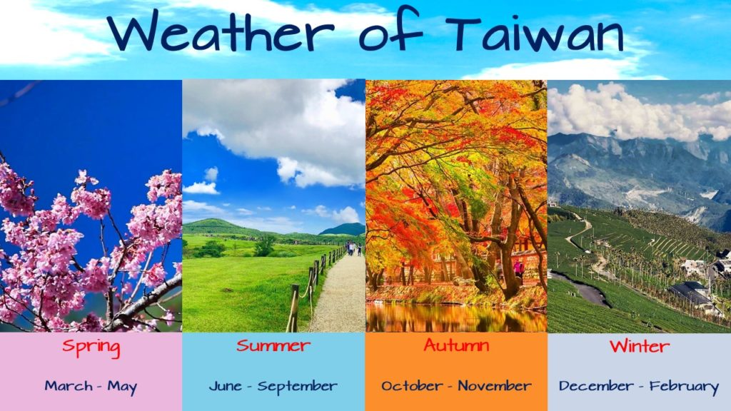 visit Taiwan travel guide and weather