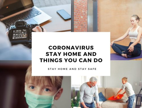Coronavirus Stay Home Safe