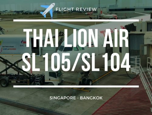 Thai Lion Air SL105 Review