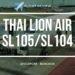 Thai Lion Air SL105 Review