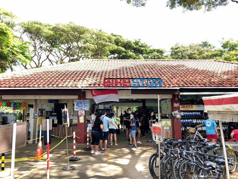East Coast Park Bike Rental Shop