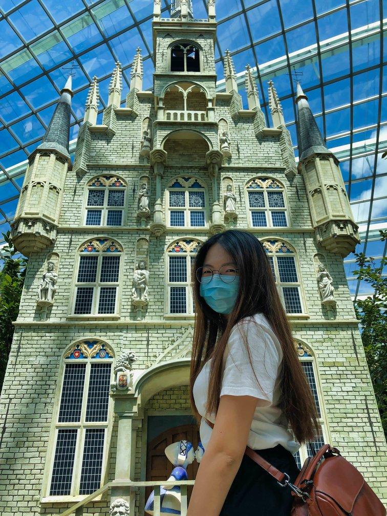 Flower Dome Castle
