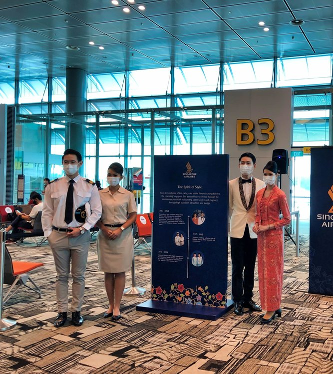 Past Singapore Airlines Uniform