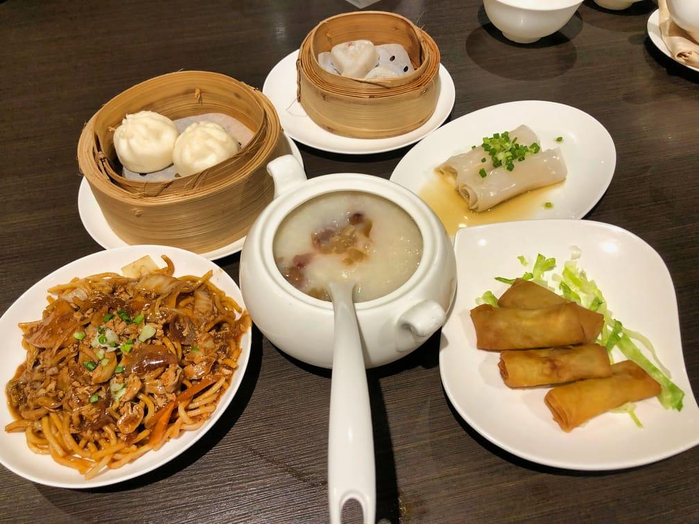 Dim Sum Breakfast in Singapore Dream Cruise