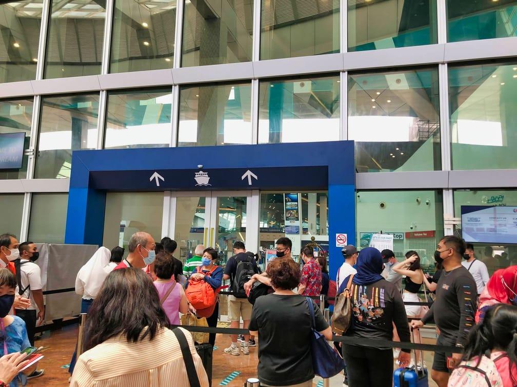 Marina Cruise Center Depature Hall