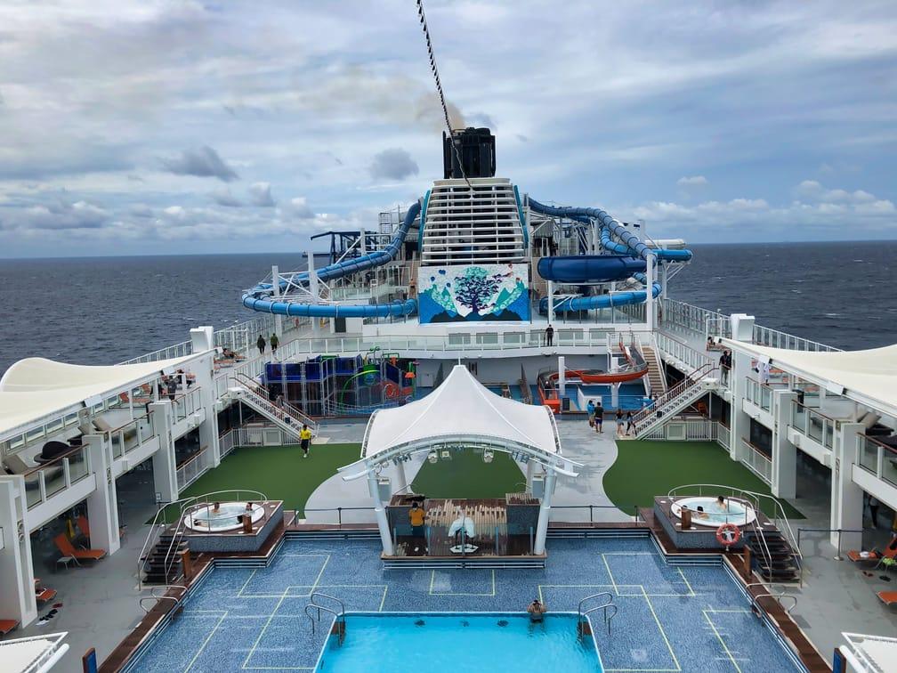 Singapore Dream Cruise Swimming Pool