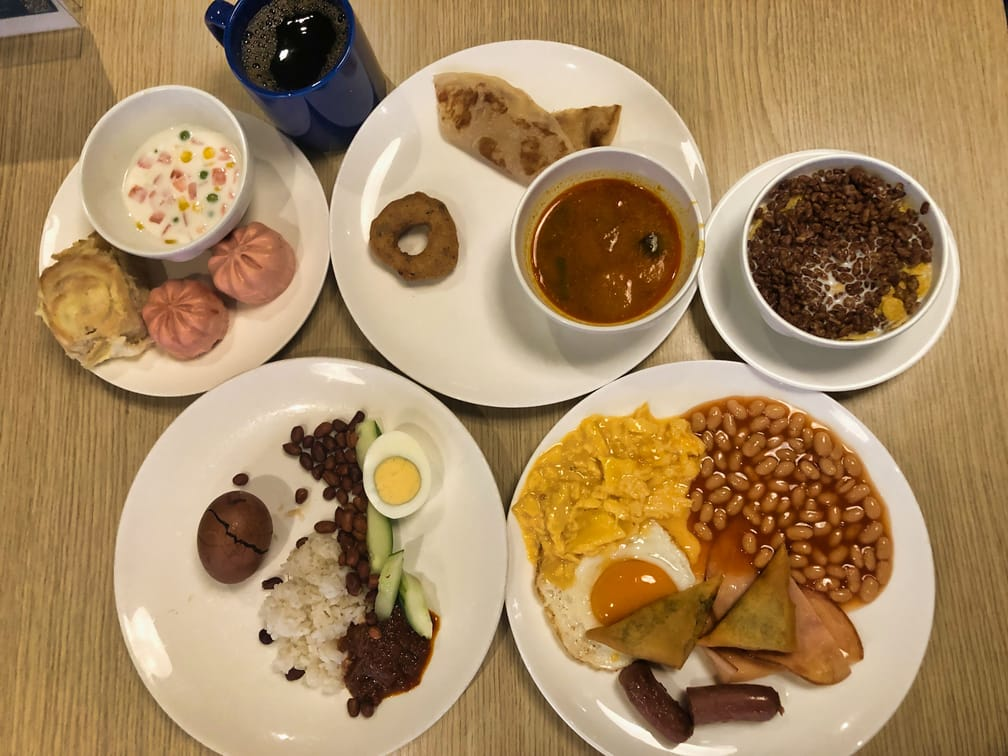 Dream Cruise Breakfast Buffet