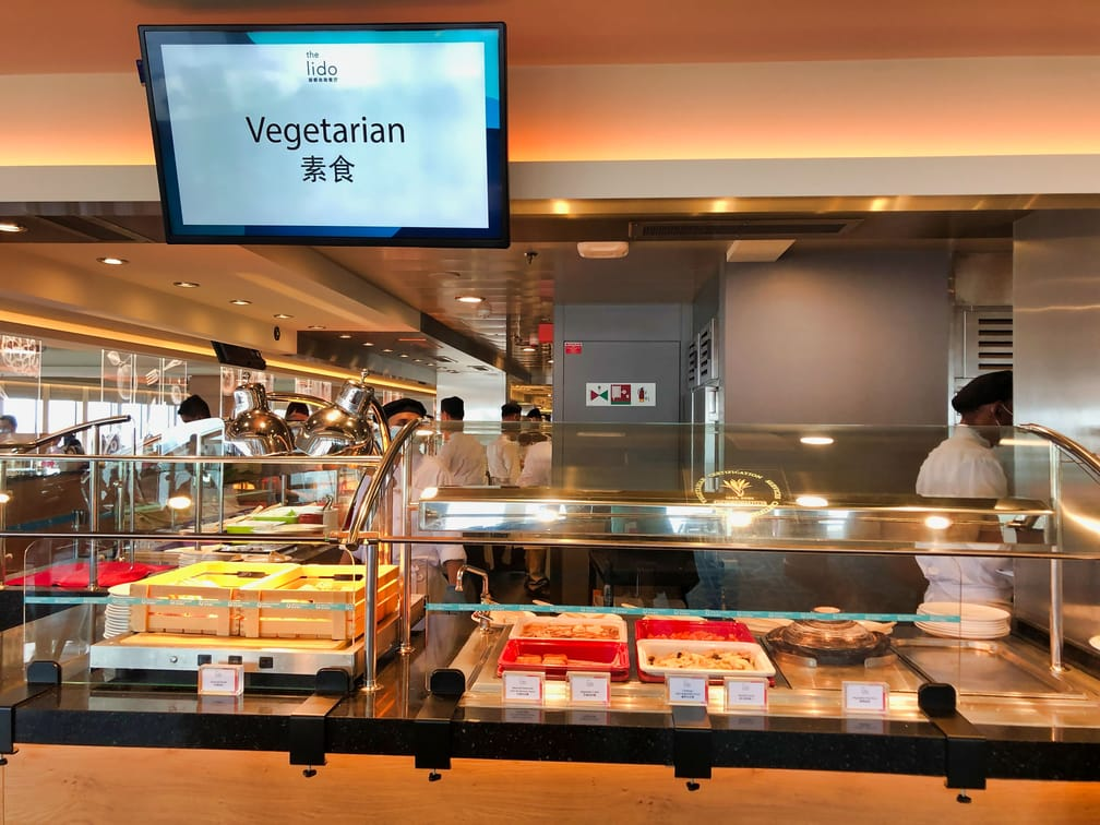 Singapore Dream Cruise Vegetarian