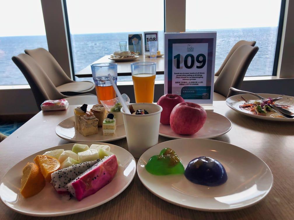 The Lido Lunch Dessert